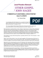 Ethnic Salvation, The Other Gospel of John Hagee