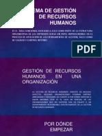 Sistema de Gestión de Recursos Humanos
