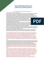 A CONTRIBUIÇÃO DO SERVIÇO SOCIAL NA GARANTIA DE DIREITOS À PESSOA IDOSA