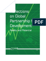 Reflections on Global Partnership for Development Reality and Potential- CUTS