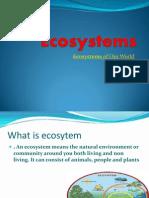 Ecosystems Trabajo de Alison