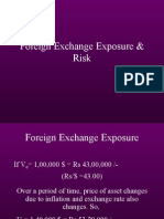 Foreign Exchange Risk and Exposure