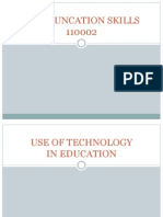 Use of Tech. in Education Presentation