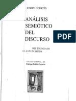Analisis Semiotico Del Discurso Cap. 1 - Joseph Courtes