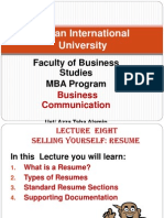 8- Lecture Eight - Resume