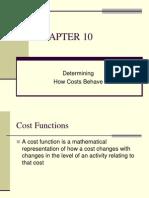 Question No.5 Dec2012 Cost Function Engineering Method