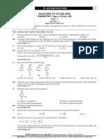 IITJEE 2009 Brilliants Solution Paper1