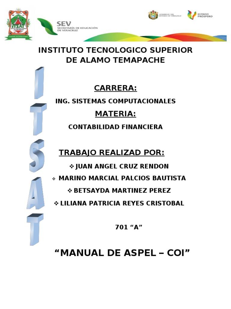 MANUAL Aspel Coi 6 0