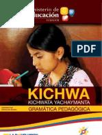 Gramática Kichwa Pedagógica