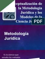 Metodologia Juridica y Modelos de La Ciencia Juridica