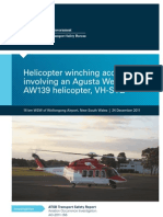 Helicopter winching accident 