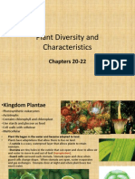 Plant Diversity and Characteristics LAB