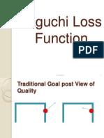 Taguchi Loss Function 2013-5-16
