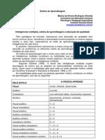 Estilos de  Aprendizagem e Inteligencias Multiplas.pdf