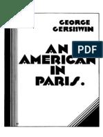 Gershwin - An American in Paris (Full Score)