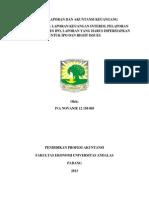 Tugas Pelaporan Dan Akuntansi Keuangan