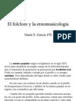 El folclore y la etnomusicología