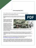 Vermiculture Part 2