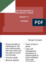 11. Team Development in CCM