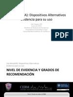 Vía Aérea Dispositivos Alternativos y evidencia para su uso - resumido Italo