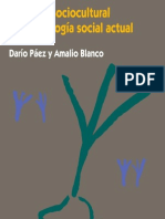 La  teoría sociocultural y la psicología social actual