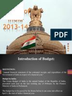 key points on Union Buget 2013-14