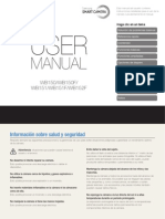 Manual de Uso Camara SAMSUNG
