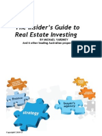 Insiders Guide to Property Investing 2013