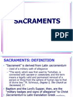 Church and Sacraments 4
