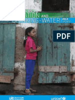 JMP-Who-unicef Report Progress on Sanitation and Drinking Water 2013 Update