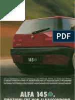Alfa Romeo 145 quadrifoglio - Pubblicità