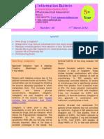 Drug Information Bulletin 48 05