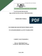 Valle Carmen - El Poder Del Receptor en La Persuasion