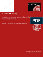Master Certificate in Human Resources ILRHRMC2