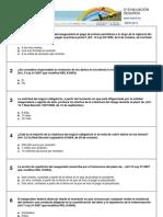 Test Segunda Evaluación - Seguros de Automóviles - XV CURSO - Profesores de Formación Vial