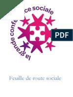 Feuille de Route Sociale