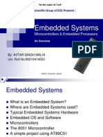 51778021 Embedded Systems