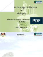 Green Technology Presentation Malaysia