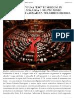 Ogm - Le Mozioni in Parlamento