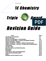 Chemistry Revision Notes 2012