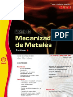 Modulo 10 Mecanizado de Metales