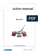 Instruction Manual for Maxi-Gun