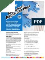 Mapeker Rapid-set Flex Uk.pdf NoRestriction