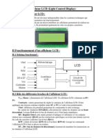 Synthese Afficheur LCD