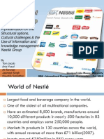 Critical Evaluation of Nestlé