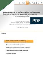 Movilizadores de la telefonía celular en Venezuela
