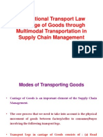 Multimodal Transport Act