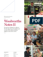 woolworths annual report analysis essay Under aasb 114, financial report's segment reporting of an entity should to separated into two main sections: business segments and geographical segments.