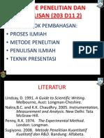 1- 22 Aug 11 Metode Filsafat-Ilmu