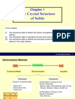Chapter1 the Crystal Structure in Solids